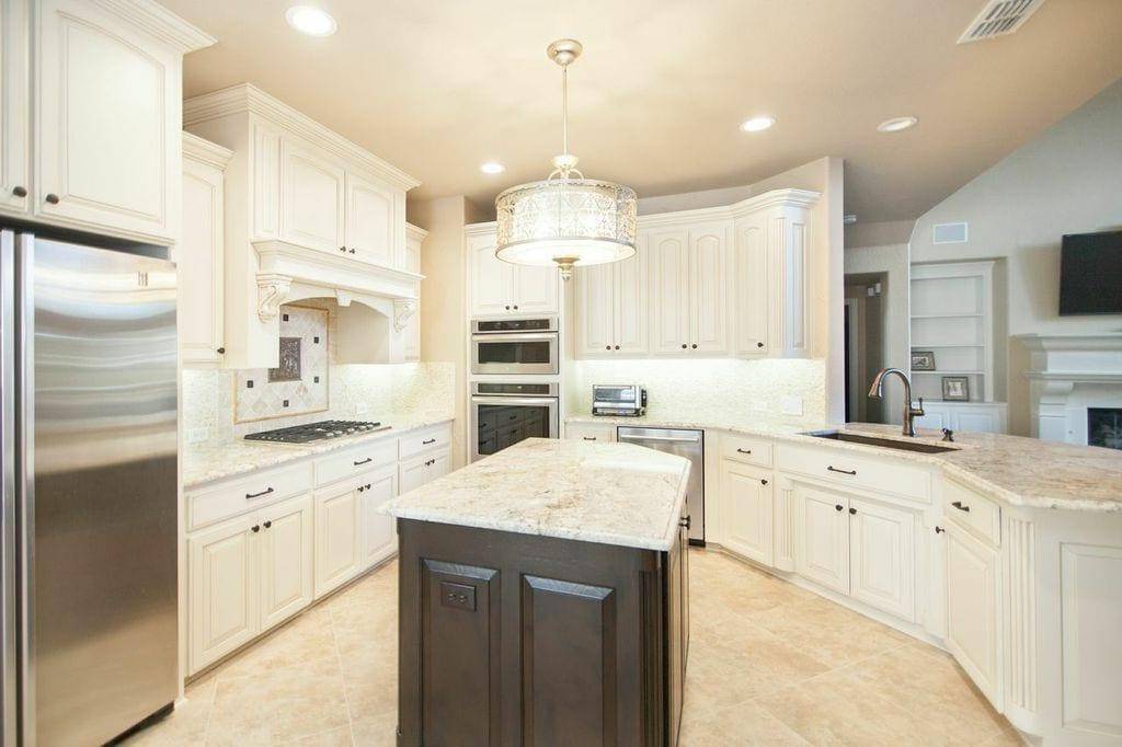 Beautiful Dallas TX Kitchen Remodle with Granite Countertops