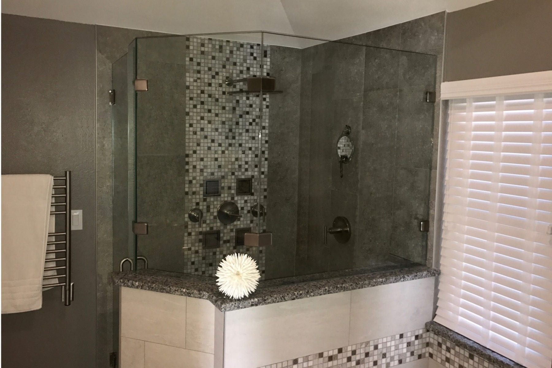 Oak Lawn Condo Bathroom Remodel After Renovation Shower