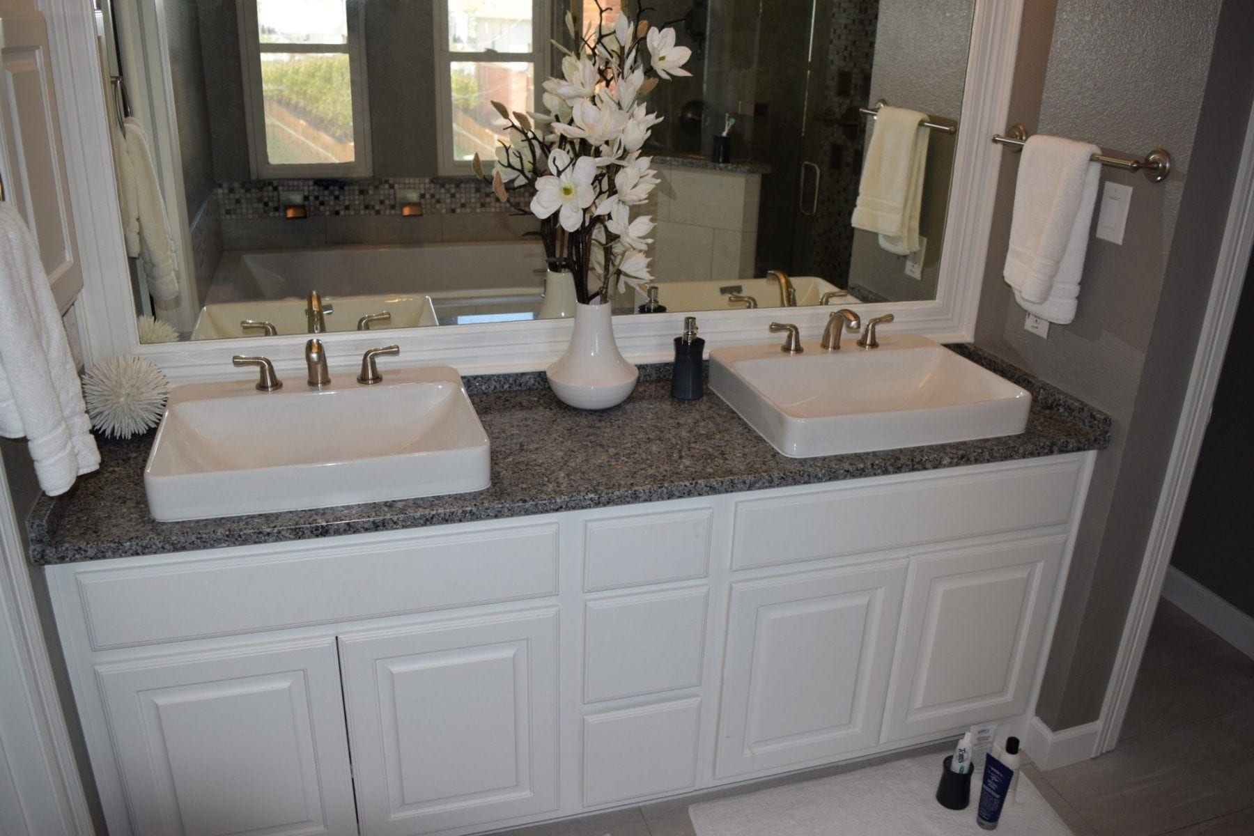 Condo Bathroom Remodel oak-lawn-condo-bathroom-remodel-after-renovation-vanity - renowned