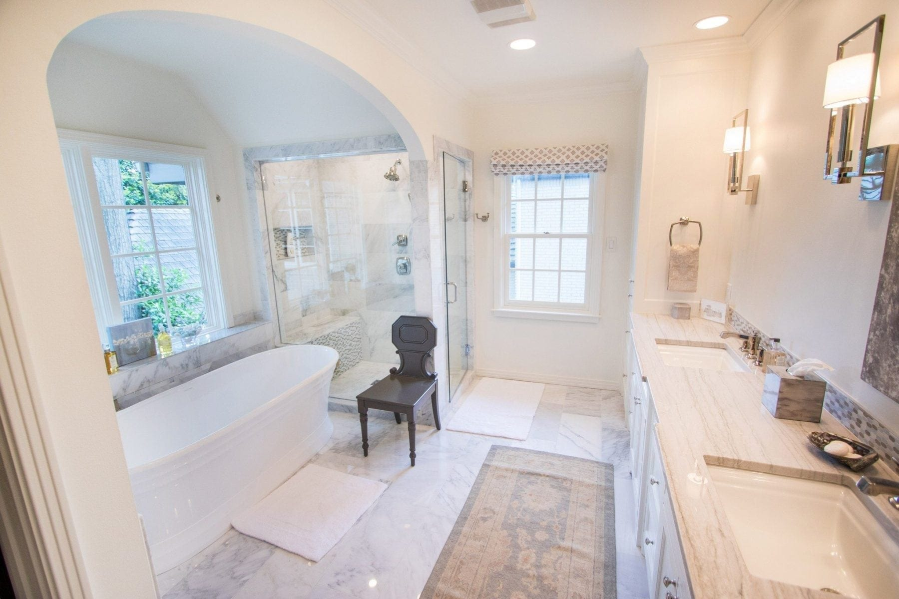 bathroom gallery - renowned renovation
