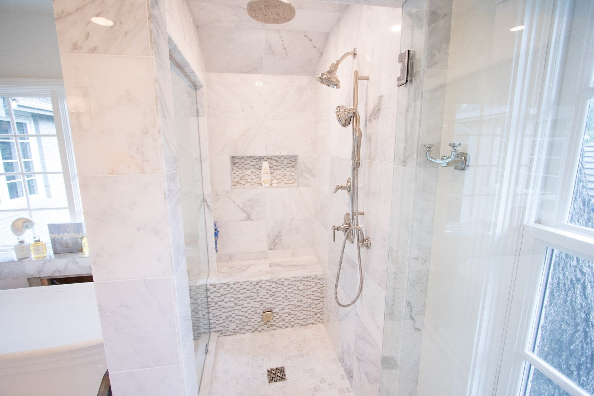 highland park master bathroom remodel april 2017 - renowned renovation
