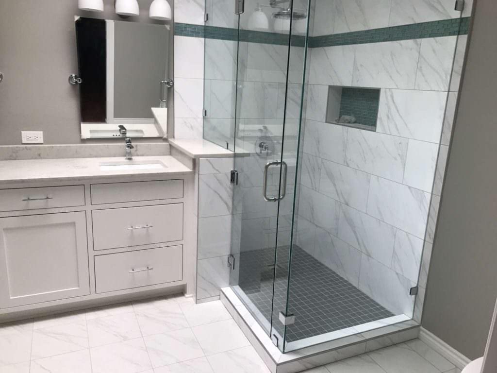 After Master Bathroom Remodel Richardson TX
