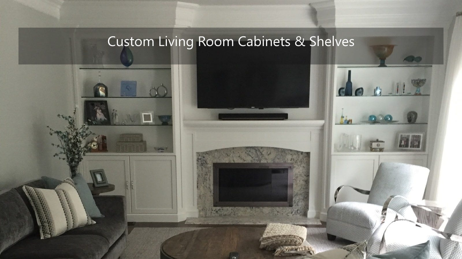 Custom Living Room Cabinets. What Makes A Cabinet Renowned  Furniture Grade Custom Designed Cabinets for Every Room