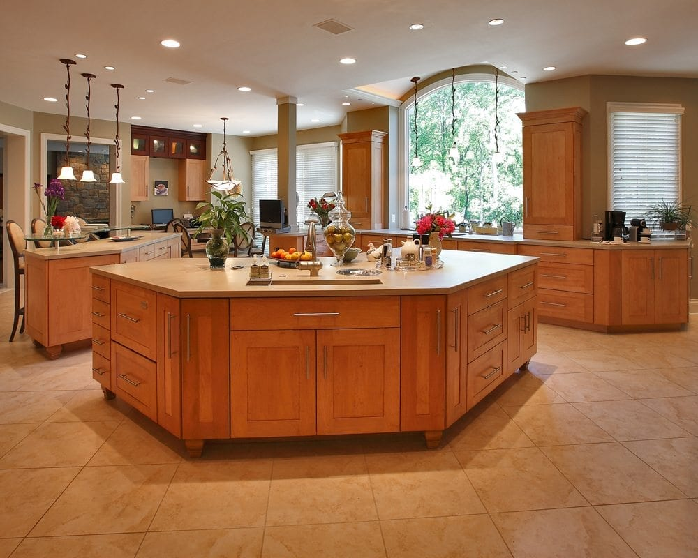 Renowned renovation custom cabinet transitional kitchen for Custom kitchen designs ideas