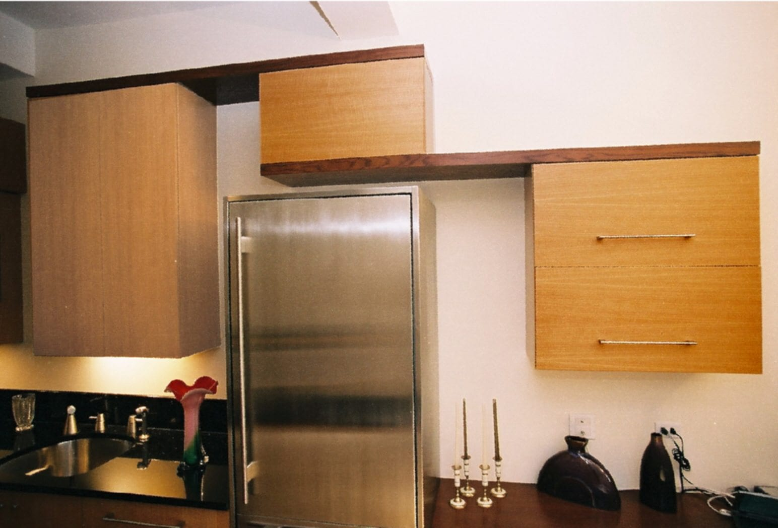 Renowned renovation custom cabinets contemporary kitchen for Custom kitchen designs ideas