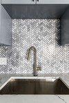 Bergamo Herringbone Mosaic by MSI Surfaces