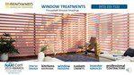 Pirouette® Window Shadings Modern Roman Shades