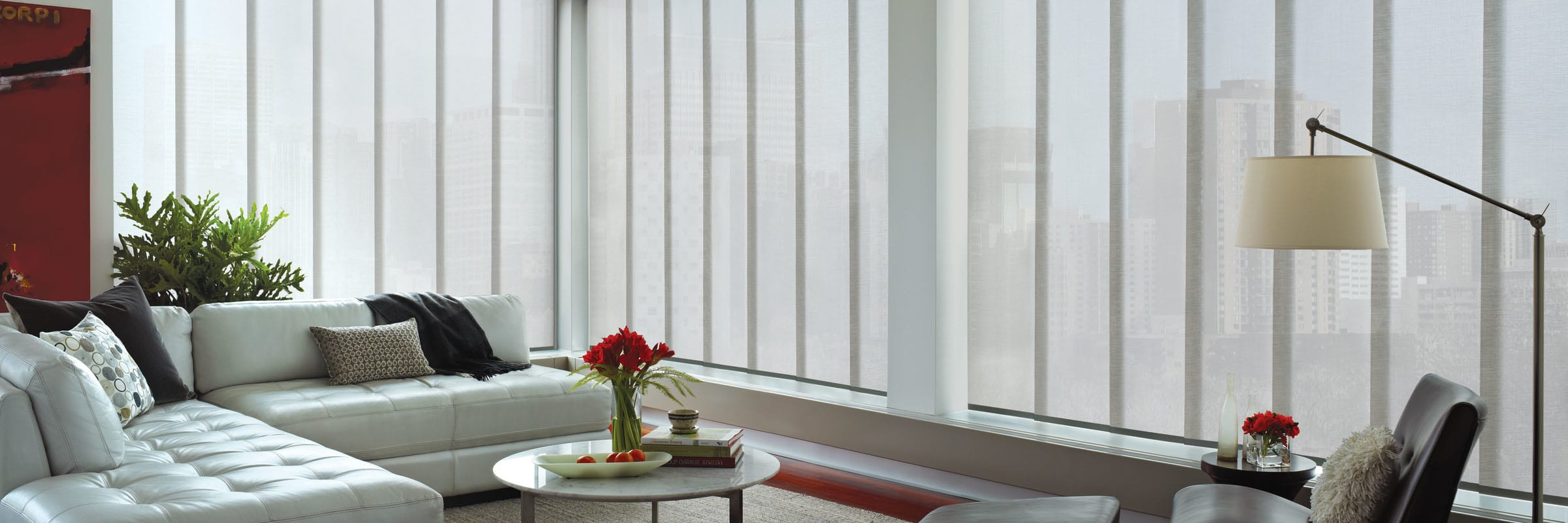 Sleek, Modern Panel Track Window Blinds