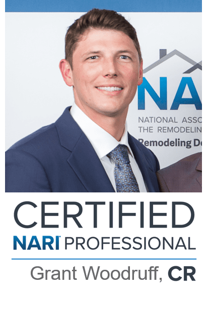 GRANT WOODRUFF EARNS NARI CERTIFIED REMODELER STATUS | DALLAS TX