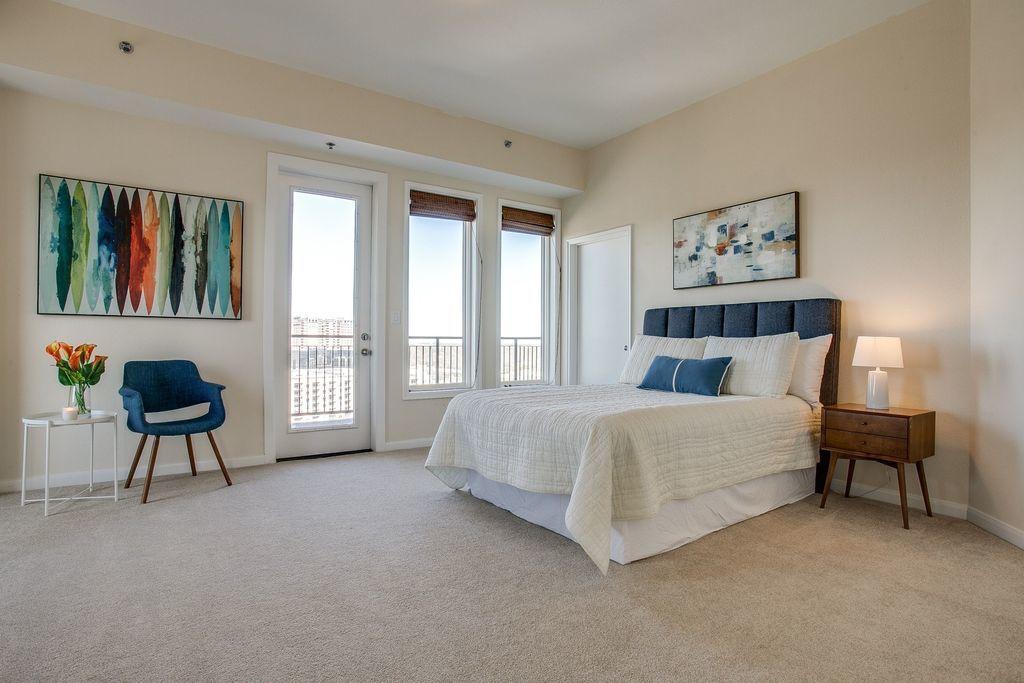 Lower Level Bedroom before Remodeling