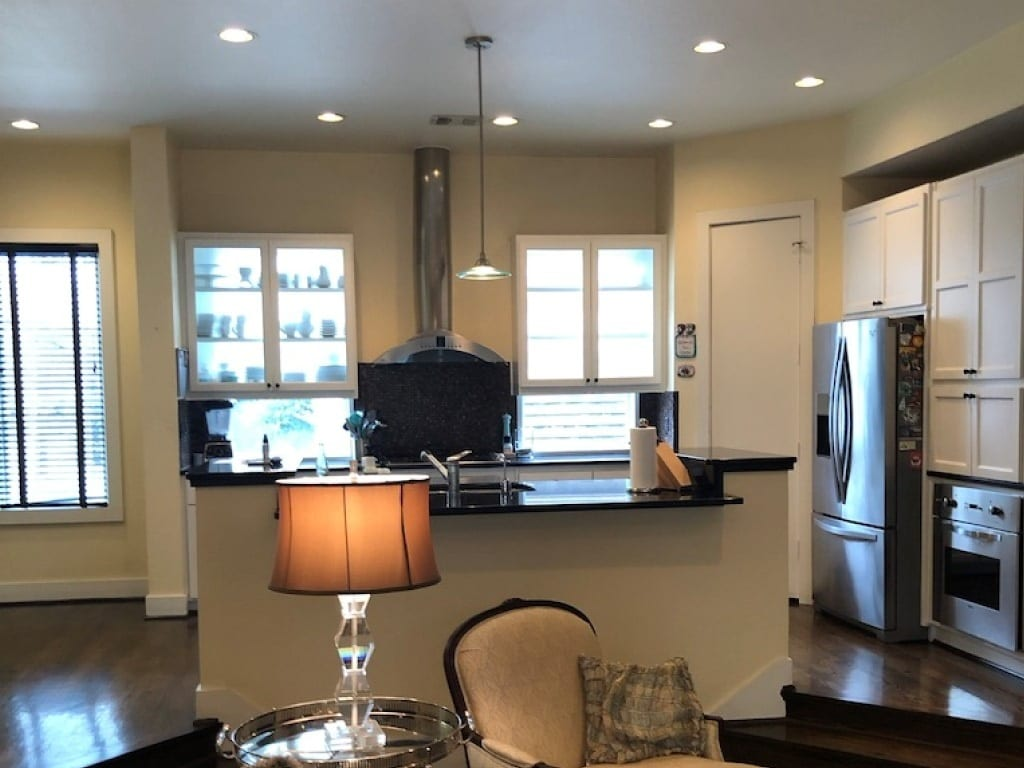 Before Renowned Kitchen Remodel Oak Lawn Turtle Creek Texas Townhomes Condo
