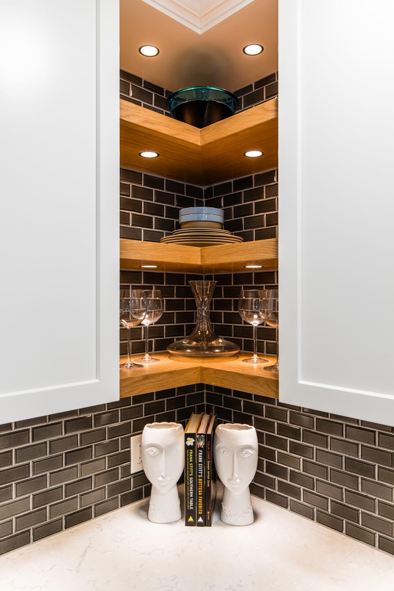 10x10 Kitchen Remodel: Floating-Kitchen-Shelves-after-Kitchen-Remodeling-Greenway