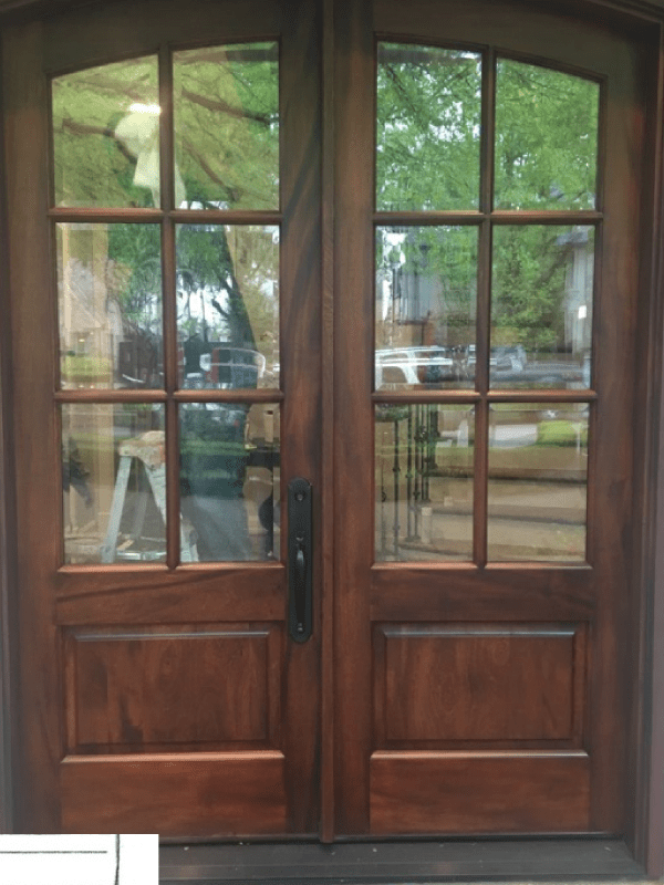 New Front Door After SurfacesRx.com Refinishing