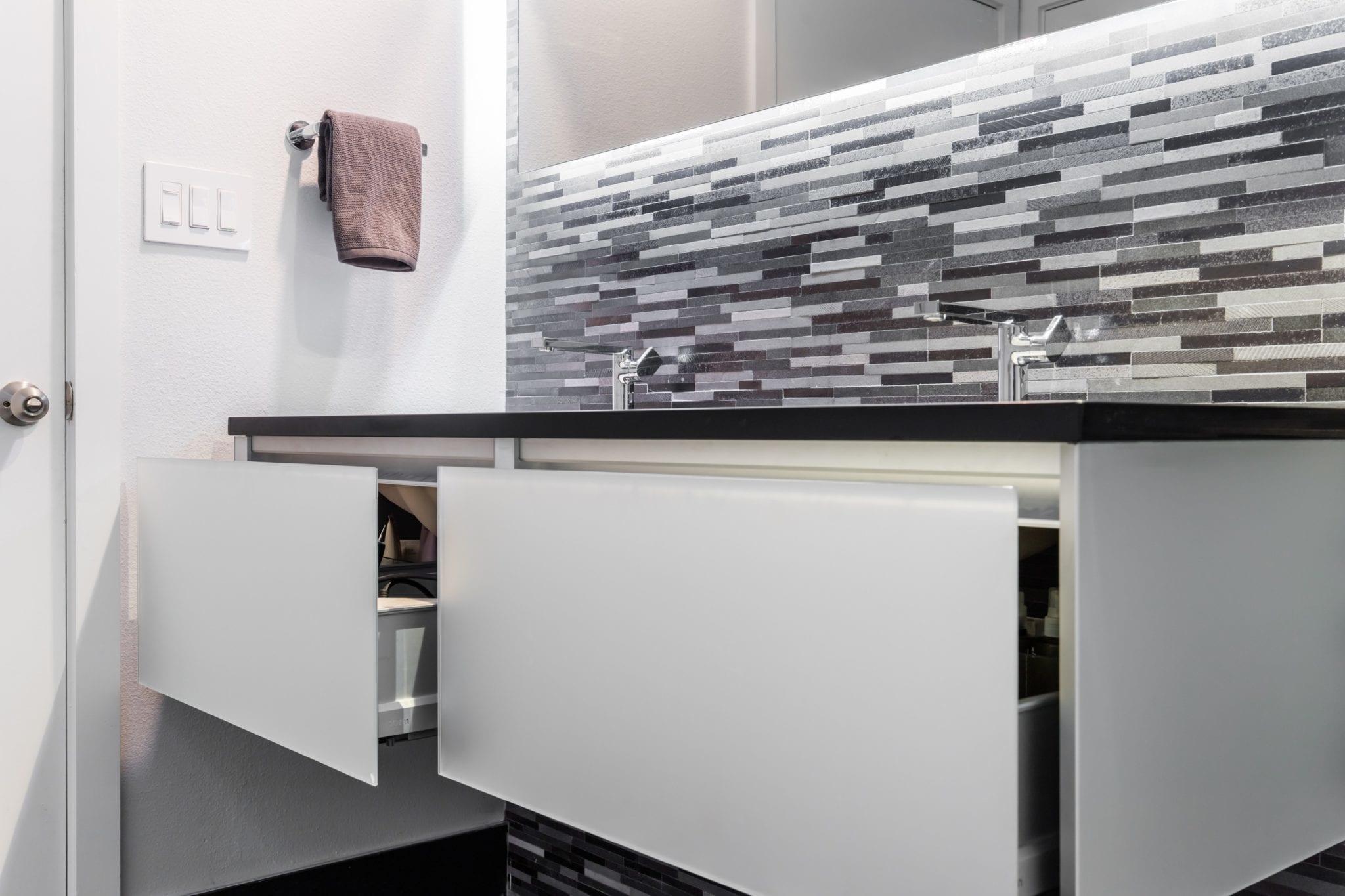 Westside Condo Bathroom Remodel Kohler Cartesian Vanity