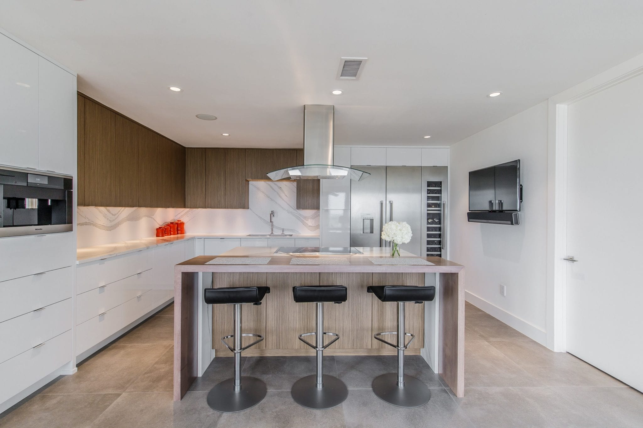 Renowned Renovation Penthouse Kitchen Remodel