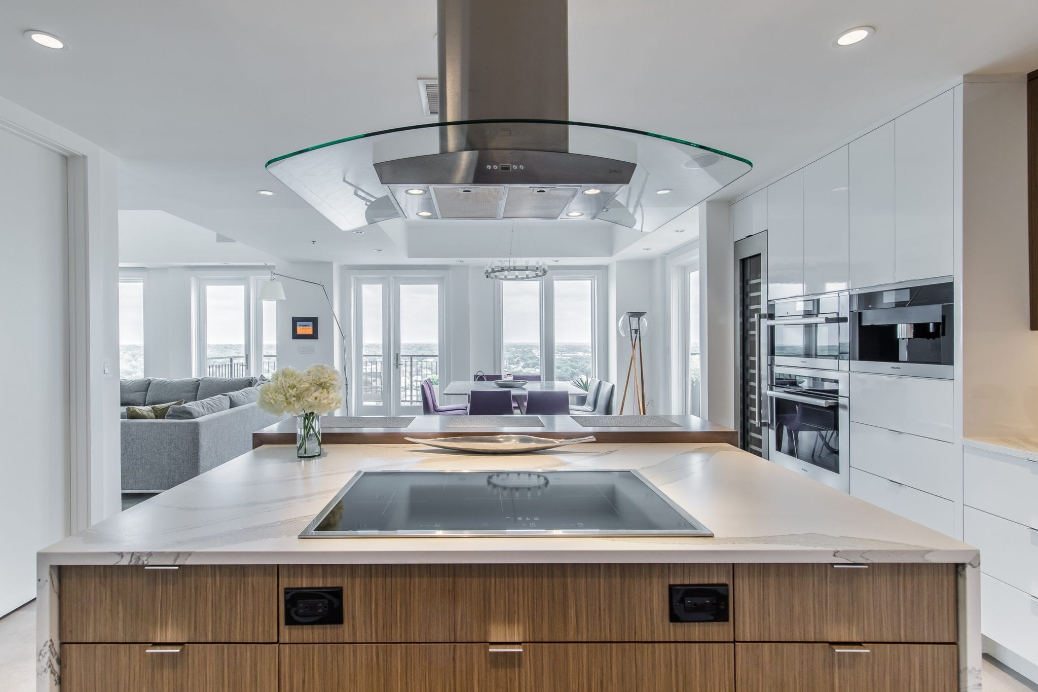 Two Story Penthouse Kitchen Remodel