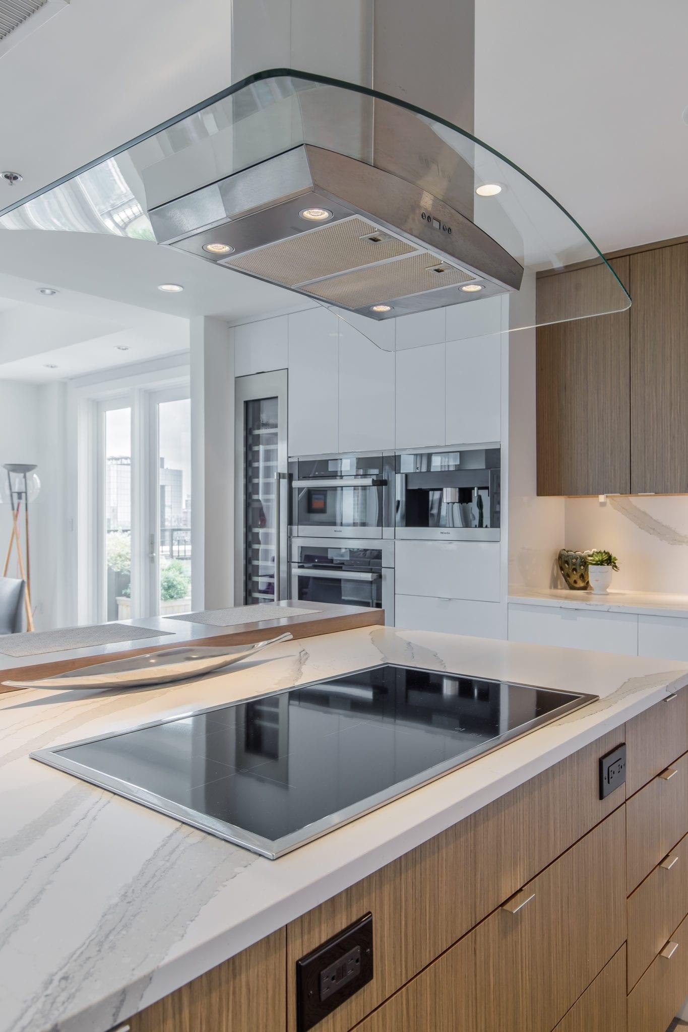 Penthouse Kitchen Island