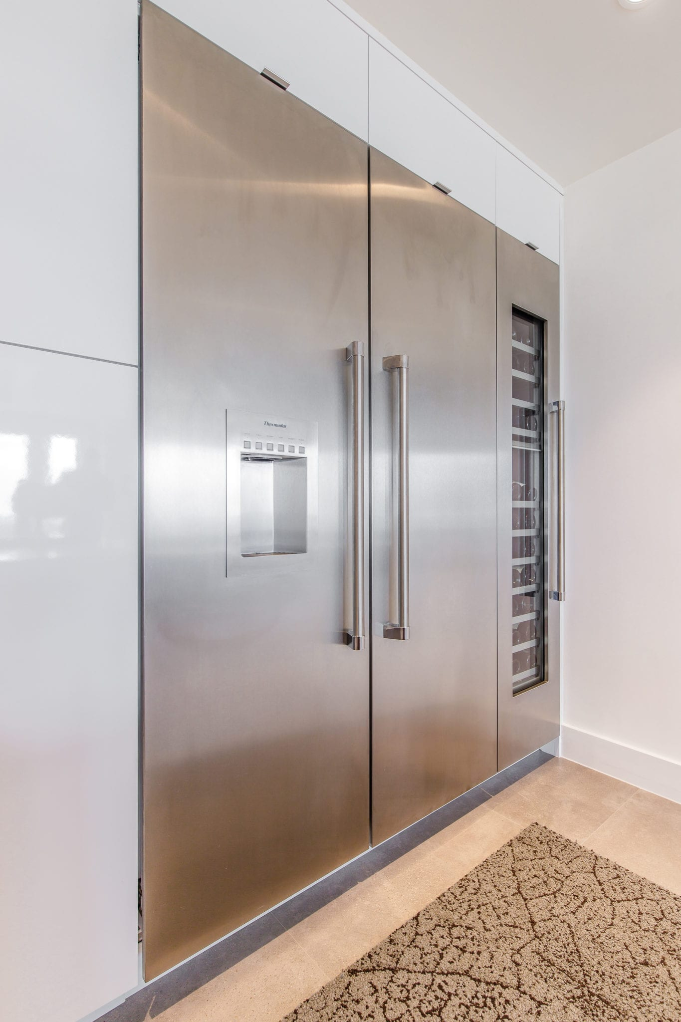 Penthouse Kitchen Thermador Refrigerator
