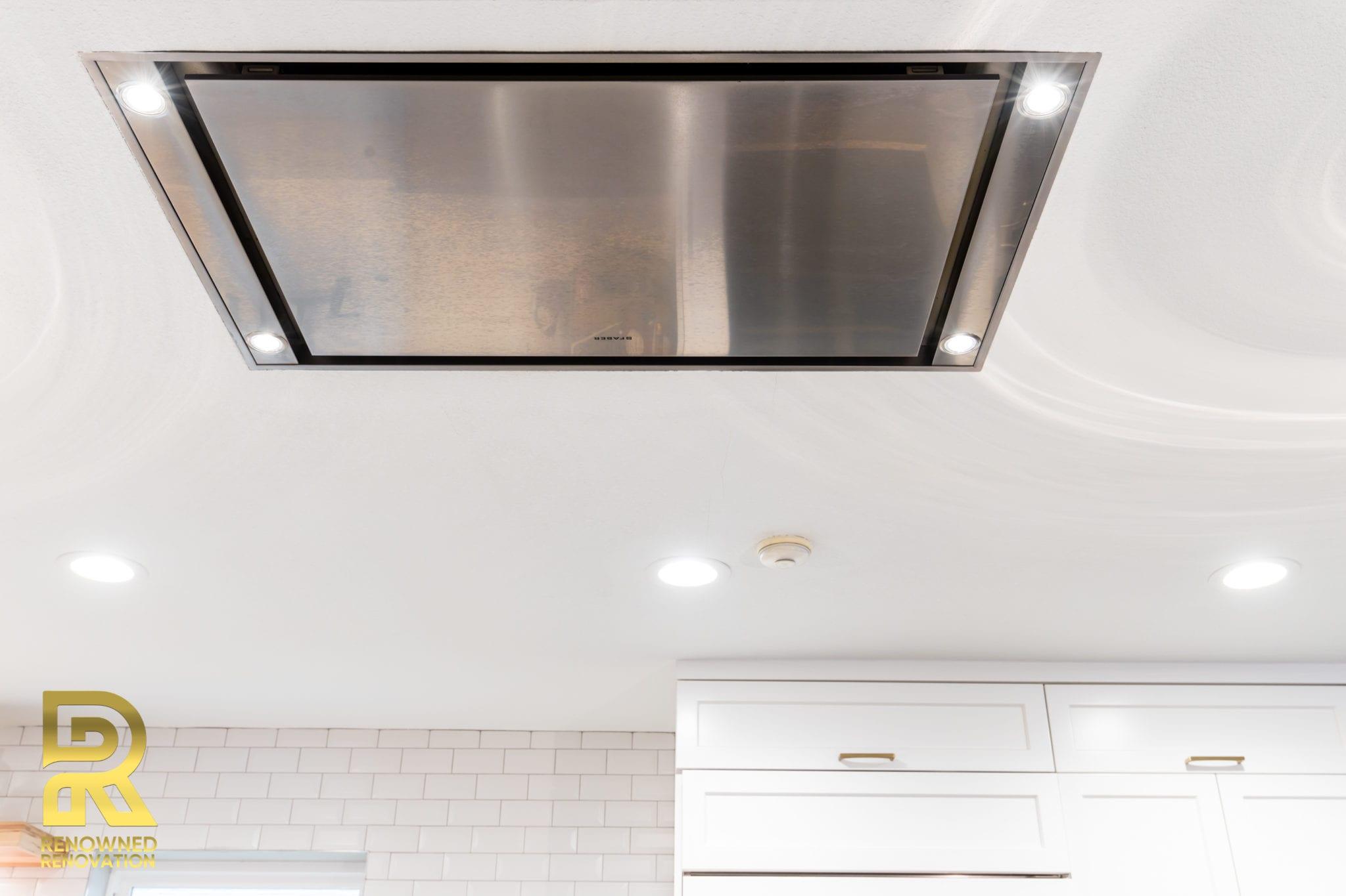 Stratus ceiling hood