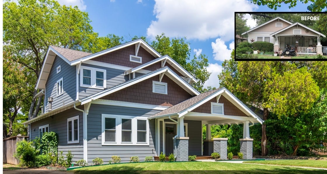 Velasco Home Remodel and Addition Dallas Conservation District