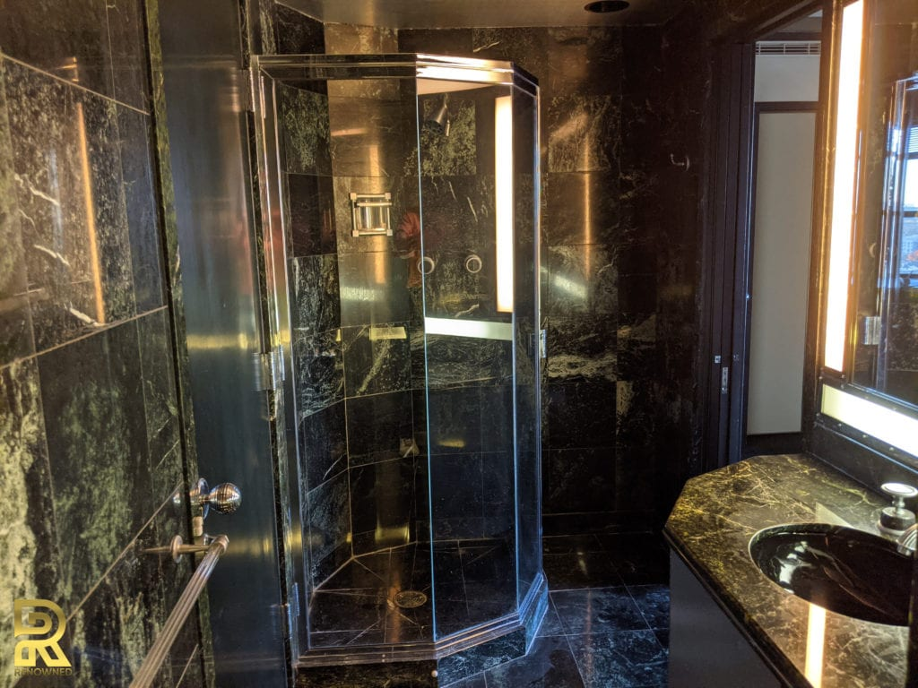 Penthouse Bathroom Before Remodeling