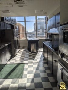 High-Rise Condo Penthouse Kitchen Before Remodeling Dallas Texas