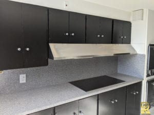 High-Rise Condo Penthouse Kitchen Before Remodeling Dallas
