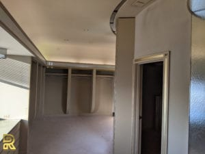 Open Closets in Master Suite