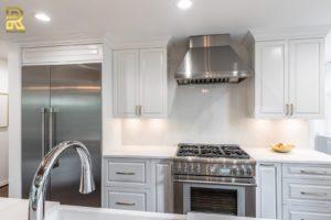 Luxury Kitchen Remodel Featuring CaesarStone Countertop